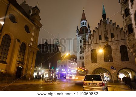 Old Town Hall Of Munich