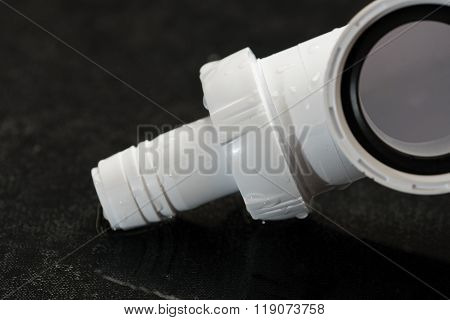 Plumbing The White Plastic Pipes