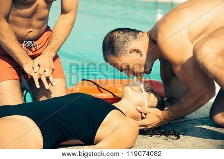 Lifeguard Training - Cpr Procedure