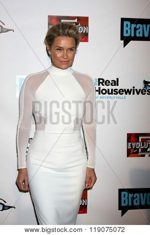 LOS ANGELES - DEC 3:  Yolanda Foster at The Real Housewives of Beverly Hills Premiere Red Carpet 2015 at the W Hotel Hollywood on December 3, 2015 in Los Angeles, CA