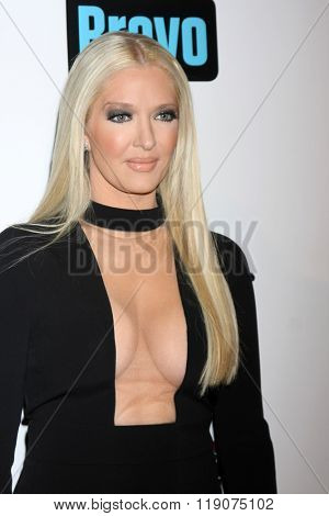 LOS ANGELES - DEC 3:  Erika Girardi at The Real Housewives of Beverly Hills Premiere Red Carpet 2015 at the W Hotel Hollywood on December 3, 2015 in Los Angeles, CA