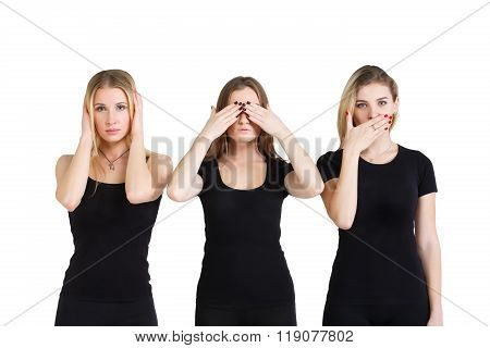 Hear No Evil, See No Evil, Speak No Evil