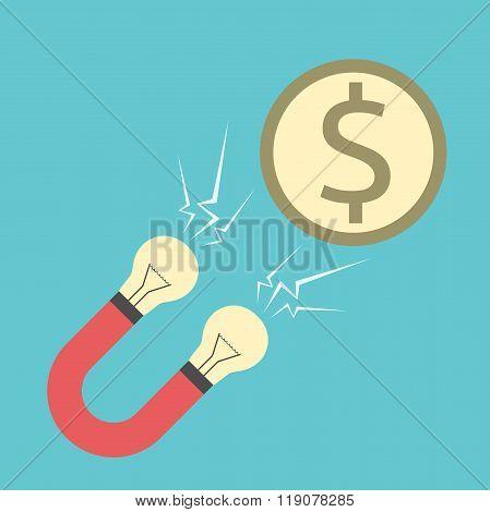 Innovative Magnet Attracting Money