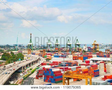 Singapore Commercial Port Storage