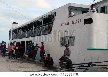 Passenger ferry vessel Philippines