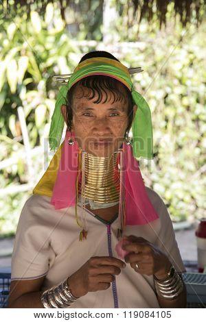 Karen Tribeswoman, Thailand
