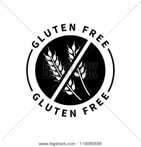 Food product badge  - Gluten free
