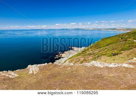 Whitsand Bay Cornwall England