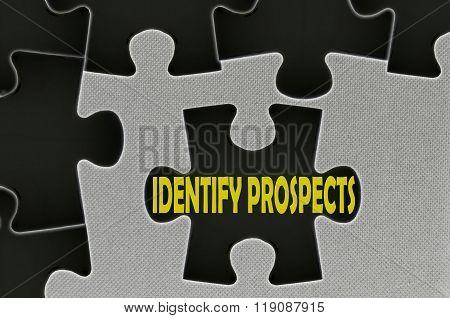 Jigsaw Puzzle Written Word Identify Prospects