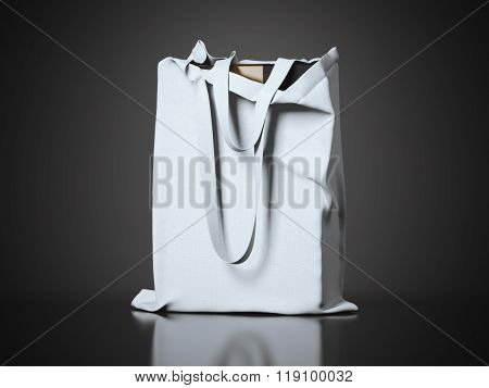 Modern package in the fabric bag