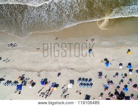 Top View of Bahia Beach, Brazil