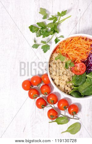 vegetarian salad bowl