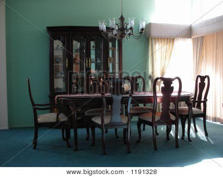 Sunlit Dining Room