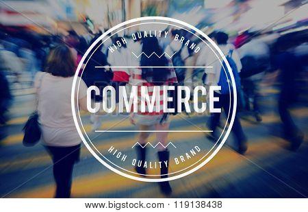 Commerce Business Branding Marketing Consumerism Concept