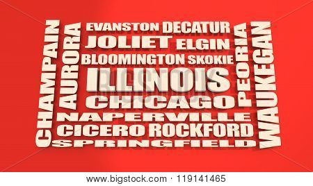 Illinois State Cities List
