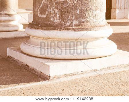 Column Basement Vintage