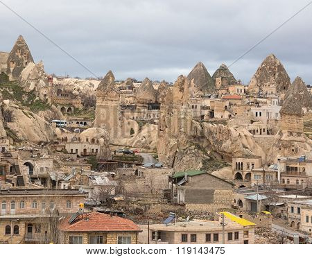 Goreme In Cappadocia, Turkey