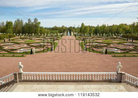 Symmetrically Designed Park