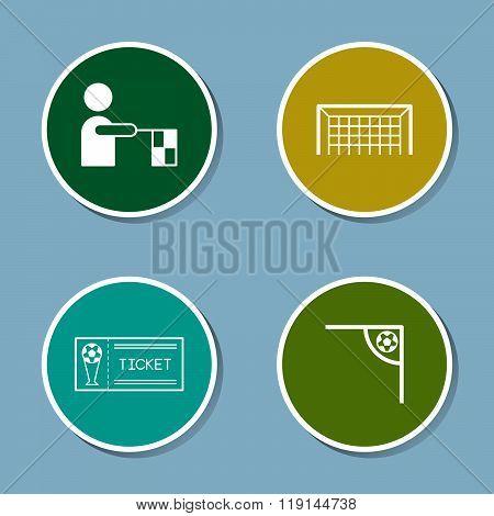 Soccer Icon Set