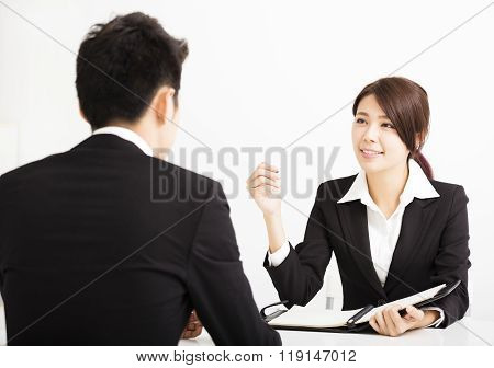 Human Resource Concept And Job Interview