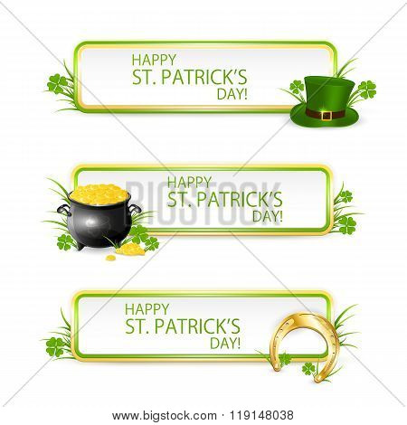 Patricks Day Banners