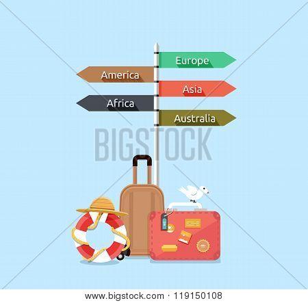Travel Asia America, Europe, Africa, Australia