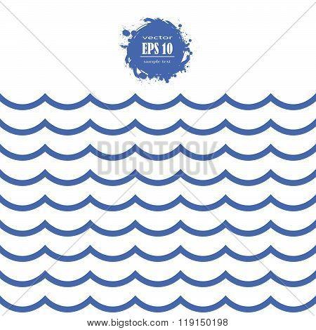 Seamless Sea Wave