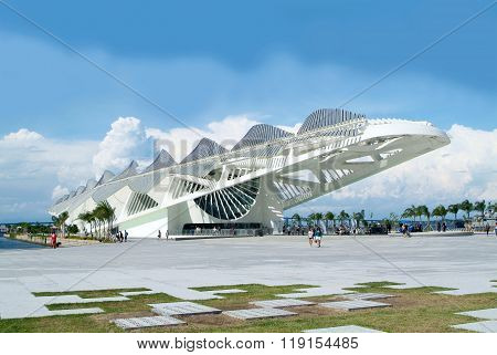 Tomorrow's Museum  In Rio De Janeiro, Brazil
