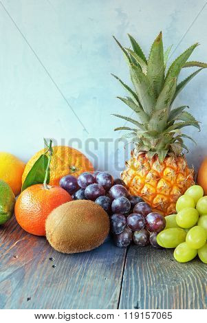 Healthy Fruit Background