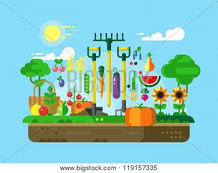 Gardening Design Flat
