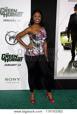 Omarosa Manigault at the Los Angeles Premiere of