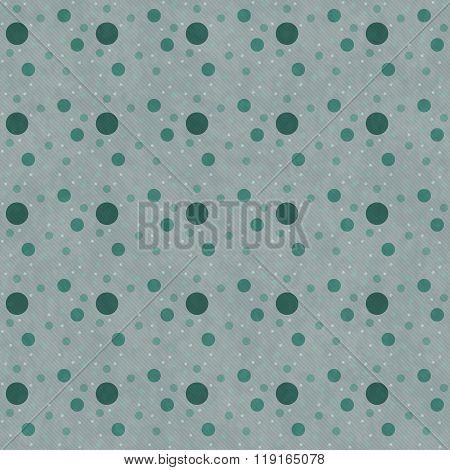 Green Polka Dot  Abstract Design Tile Pattern Repeat Background
