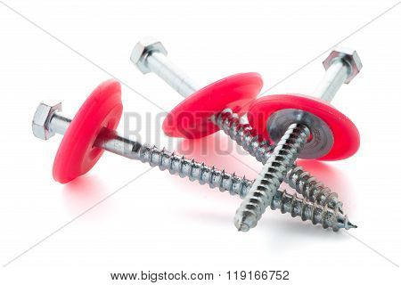 Hexagonal Threaded Steel Bolts Or Screws