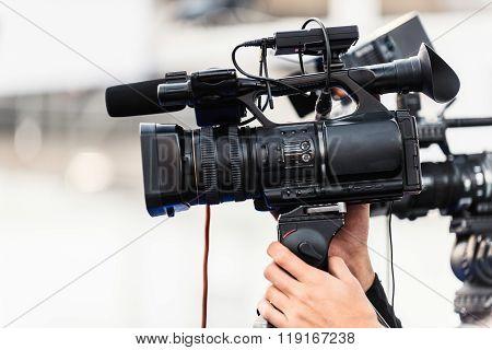 Television Camera Recording