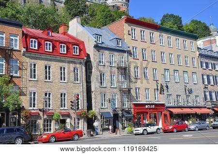Boulevard Champlain, Quebec City, Canada