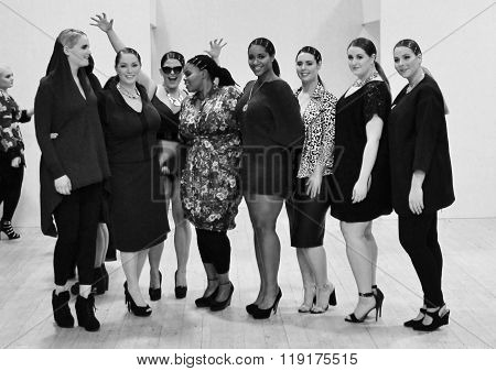Plus-size Fashion Weekend Fashion Show- February London 2014