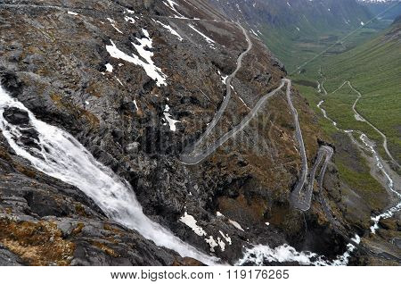 Norway. Trollstigen