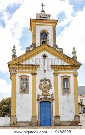 Church built in 18th century
