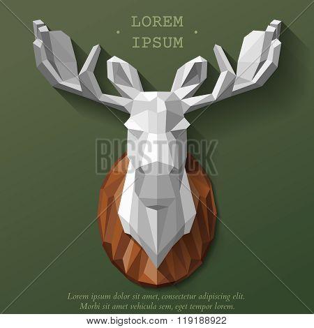 poly elk head