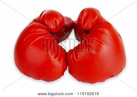 Red Boxing Cloves