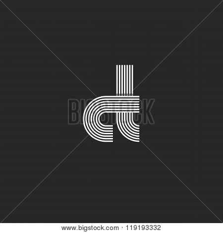 Symbol Mockup Letters Ct Logo Monogram, C Combination T Thin Line Overlapping Style, Modern Design E