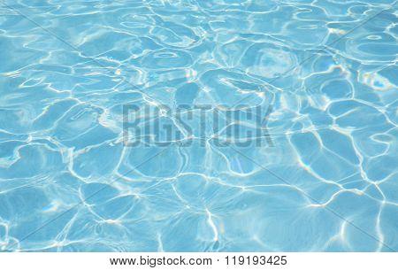 Fresh water in swimming-pool