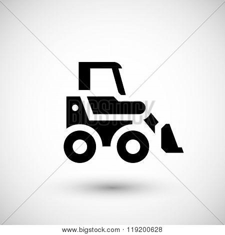 Mini earth mover icon