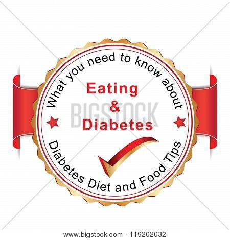 Diabetes campaign badge