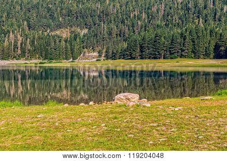 Montenegro mountains Black Lake