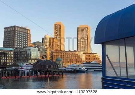 Rowes Wharf Skyline