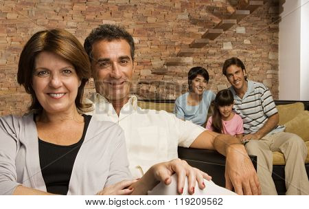 Grandparents and family