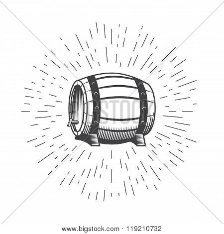 Wooden Beer Wine Barrel