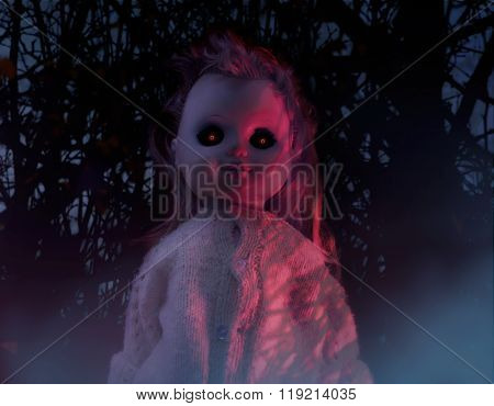 Horror doll.