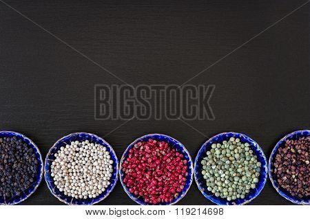 Five Types Of Pepper